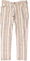 Etoile Isabel Marant Printed Cropped Jeans