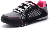 Black & Fuchsia Athletic Sneaker - Women