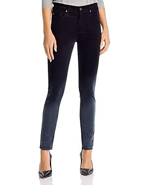 AG Jeans Farrah High Rise Skinny Jeans in Sunbaked Ombre