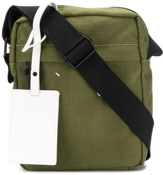 Maison Margiela Stitched Logo Messenger Bag
