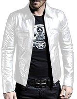 Laverapelle 1510200 Men's NAPPA Lambskin Real Leather Jacket - 4XL