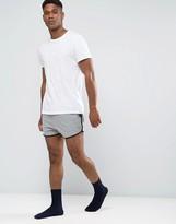 Asos Loungewear Runner Shorts In Super Short Length