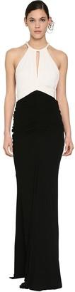Alexander McQueen Long Light Viscose Jersey Dress