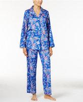 Lauren Ralph Lauren Petite Paisley Sateen Pajama Set