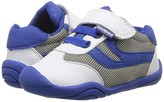 pediped Cliff Grip n Go (Toddler) (White/Blue) Boy's Shoes