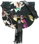 Roberto Cavalli tassel saddle shoulder bag