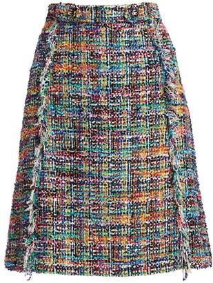 Etro Tweed Boucle Skirt