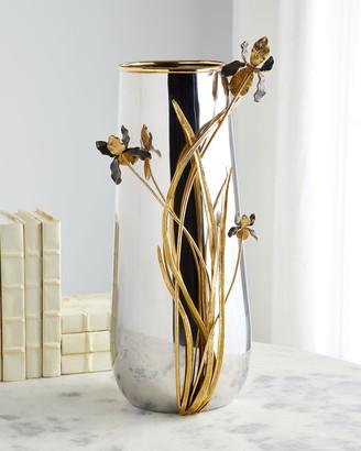 Michael Aram Black Iris Centerpiece Vase