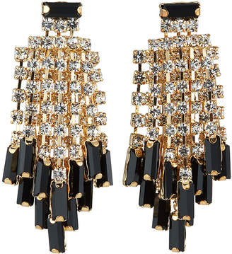 Kenneth Jay Lane Waterfall Crystal Earrings