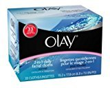 Olay 2-in-1 Normal Daily Facial Cloths (Pack of 3)