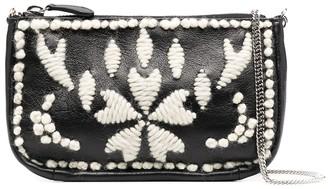 Ermanno Scervino Embroidered Belt Bag