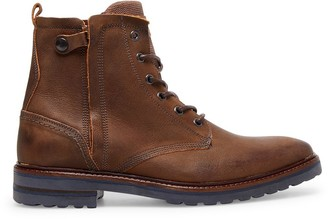 Steve Madden Wellington Brown Leather