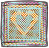M Missoni Printed Silk Scarf