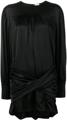 Magda Butrym Pearl Embellished Cocktail Dress