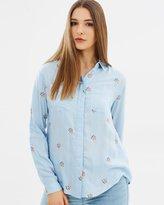 Oasis Embroidered Shirt