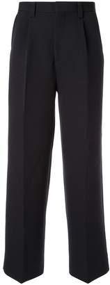 Coohem knit side line trousers