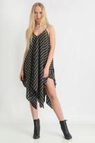 J.o.a. Striped Handkerchief Dress