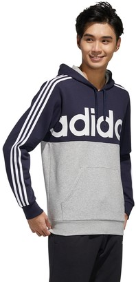 adidas Big & Tall Essential 3-Stripe French Terry Pullover