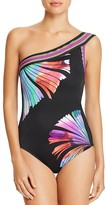 LaBlanca La Blanca Fan One Shoulder One Piece Swimsuit