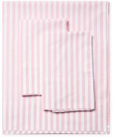 Melange Home Hampton Stripe Chambray Sheet Set