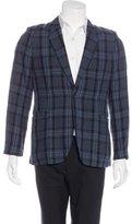 Paul Smith Linen Plaid Sport Coat