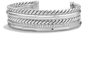 David Yurman Stax Narrow Bracelet with Diamonds