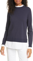 Ted Baker Lleana Mixed Media Layered Sweater
