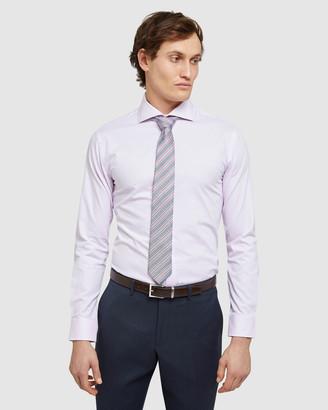 Oxford Men's Business Shirts - Trafalgar Dobby Shirt - Size One Size, XL at The Iconic