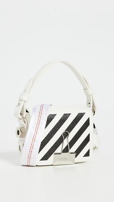 Off-White Off White Diagonal Baby Flap Bag