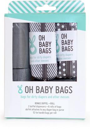 Oh Baby Bags Portable Clip-On Dispenser & Bag Set