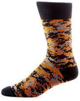Yo Sox Camouflage Mid-Calf Crew Socks
