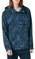 Topman Men's Camo Pullover Jacket