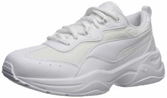Puma Women's Cilia Sneaker White-Gray Violet Silver 10 M US