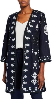 Kobi Halperin Aster Embroidered Coat