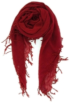 Chan Luu Solid Scarf In Biking Red