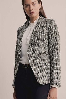 Witchery Waisted Double Breasted Blazer