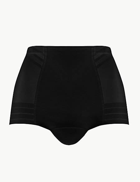 M&S Collection Firm Control MagicwearTM Geometric Low Leg Knickers