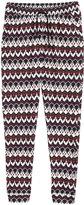 H&M Pants - Burgundy/patterned - Ladies