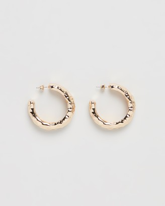 Bling Bar Angelina Statement Hoops