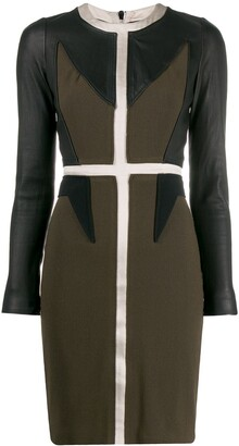 Givenchy Pre Owned '2000s Panelled Dress