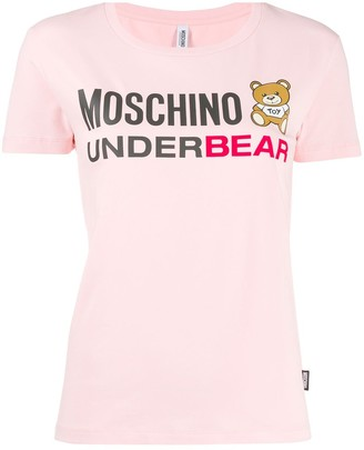 Moschino statement logo T-shirt