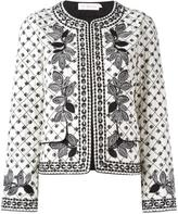 Tory Burch fish print jacket
