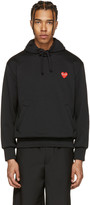 Comme des Garcons Black Heart Patch Hoodie