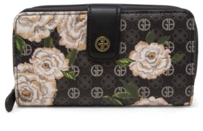 Giani Bernini Floral Signature All In One Wallet, Created for Macy's