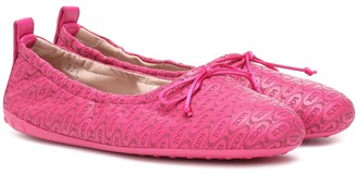 Tod's Exclusive to Mytheresa leather ballet flats