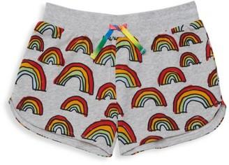 Stella Mccartney Kids LIttle Girl's & Girl's Scribble Rainbow Shorts