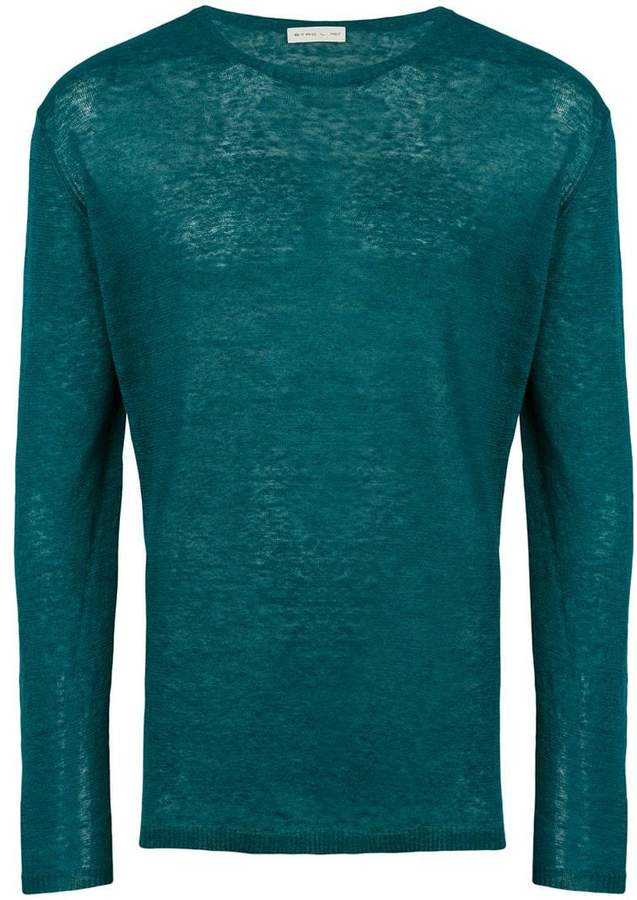 Etro long sleeve sweater
