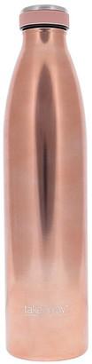 TakeAway Edit Double Wall Stainless Steel Water Bottle 1L Rose Gold
