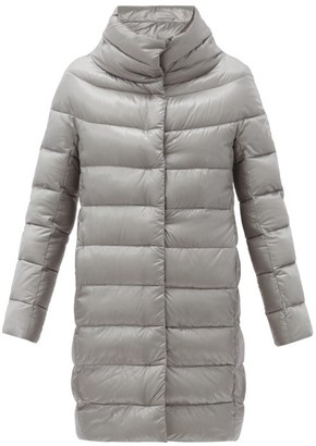 Herno Dora Quilted Down Coat - Silver