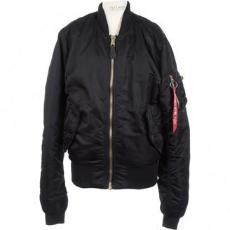 Alpha Industries Black Synthetic Jackets
